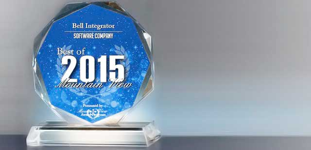 Bell Integrator Receives 2015 Best of Mountain View Award